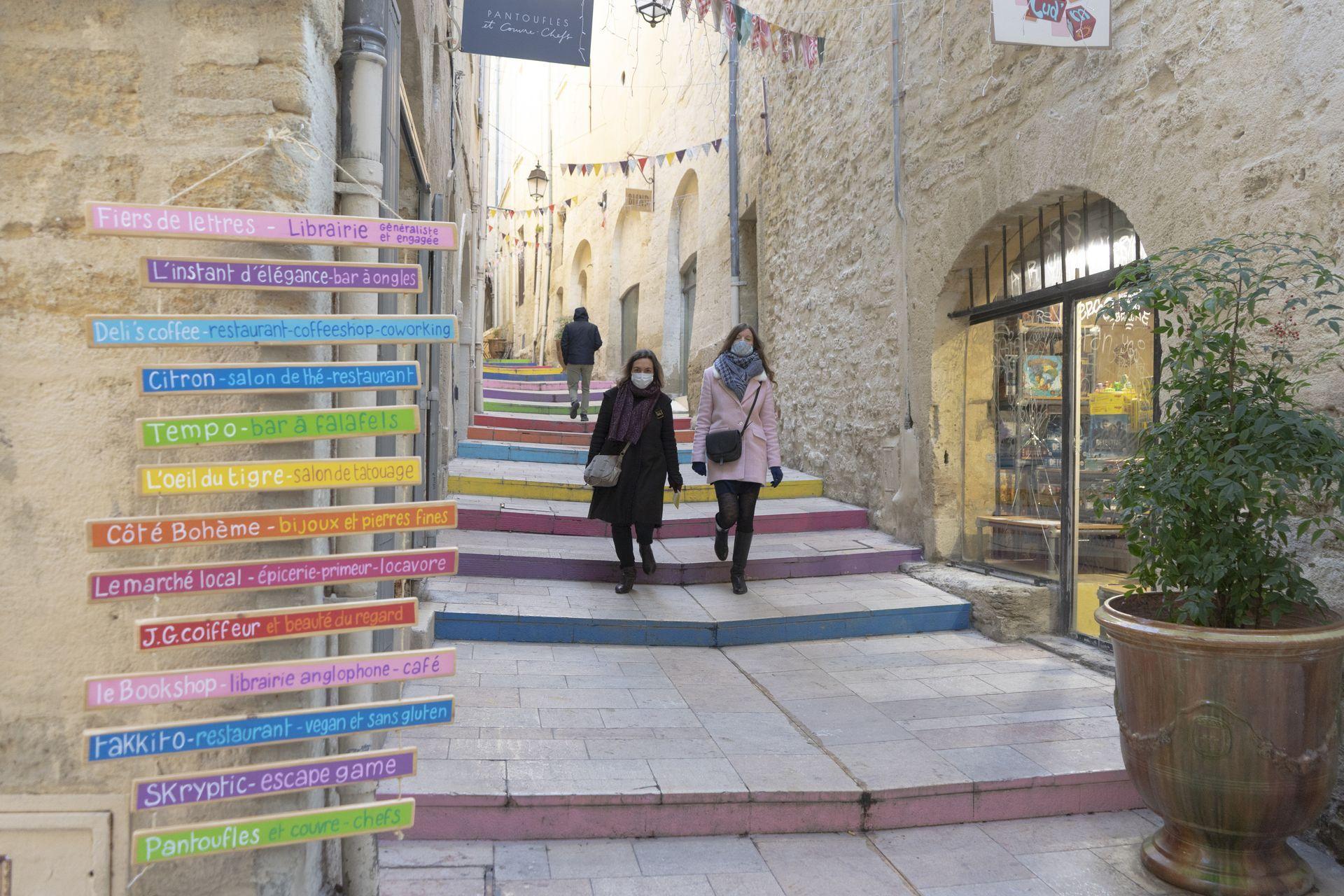 Balade et shopping dans les ruelles de l'Ecusson © Montpellier3m