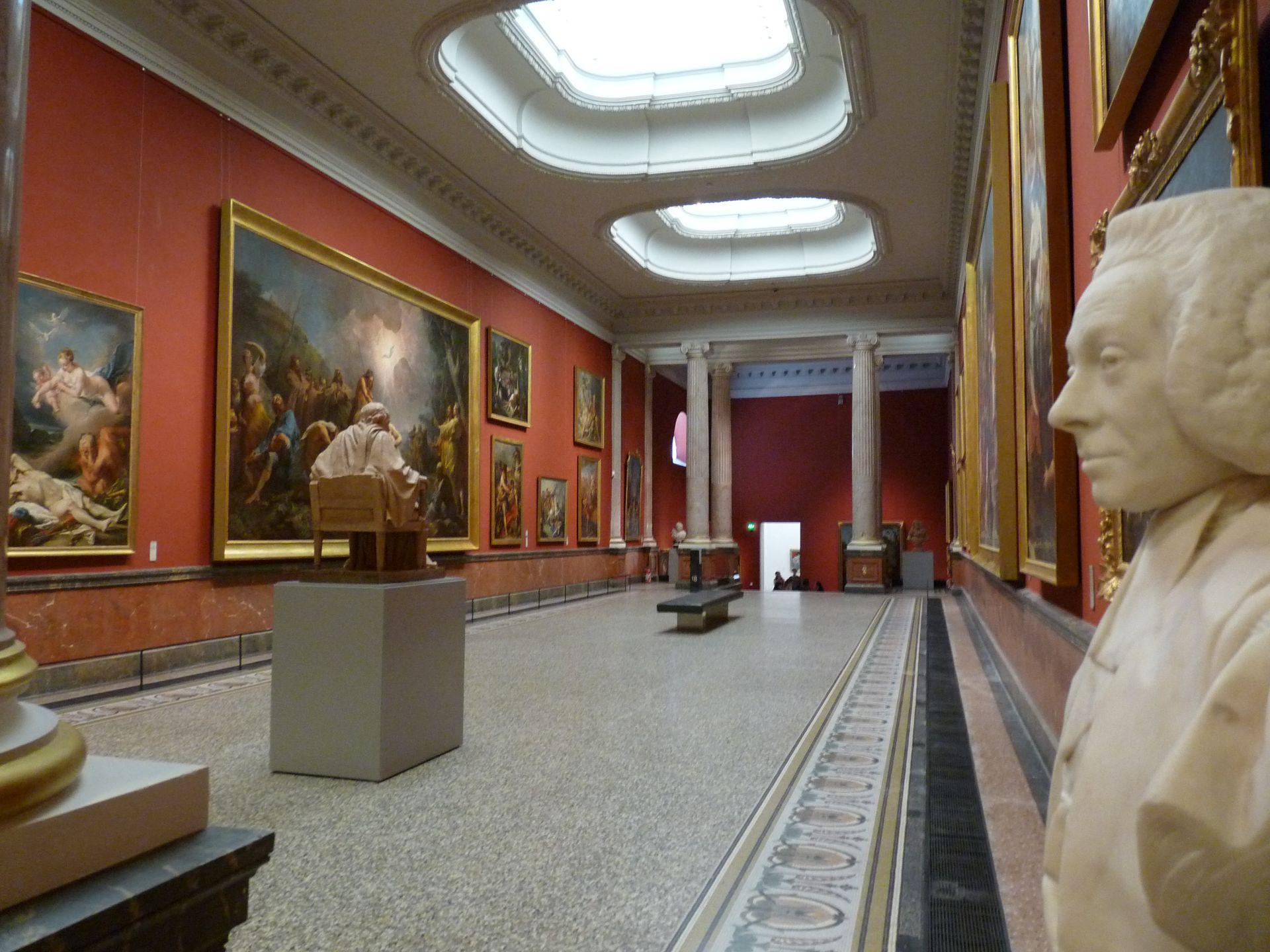 Salle au Musée Fabre à Montpellier