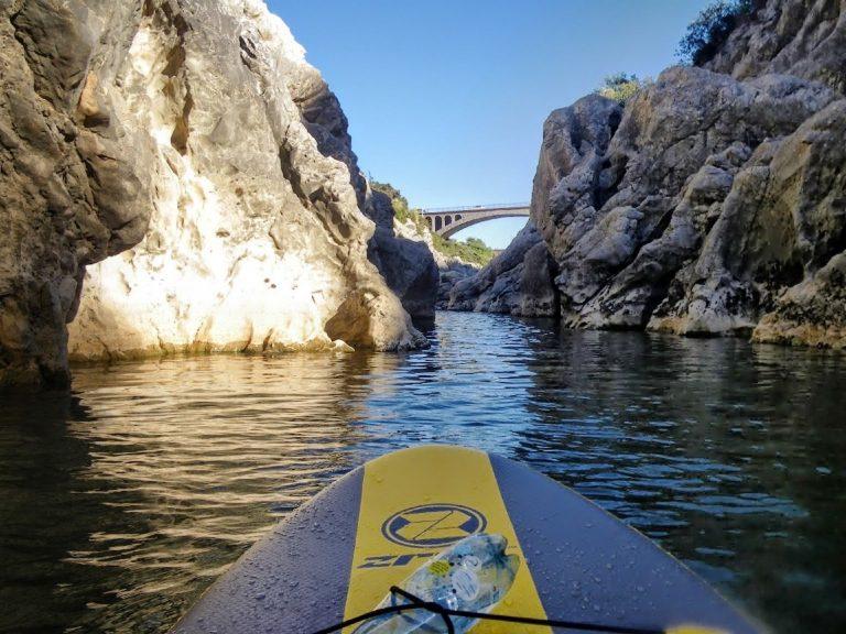 Paddle au Pont du diable sur l'Hérault