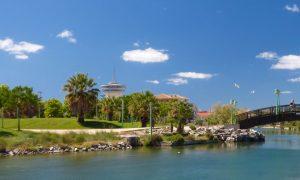 Parc du Levant et phare de Palavas