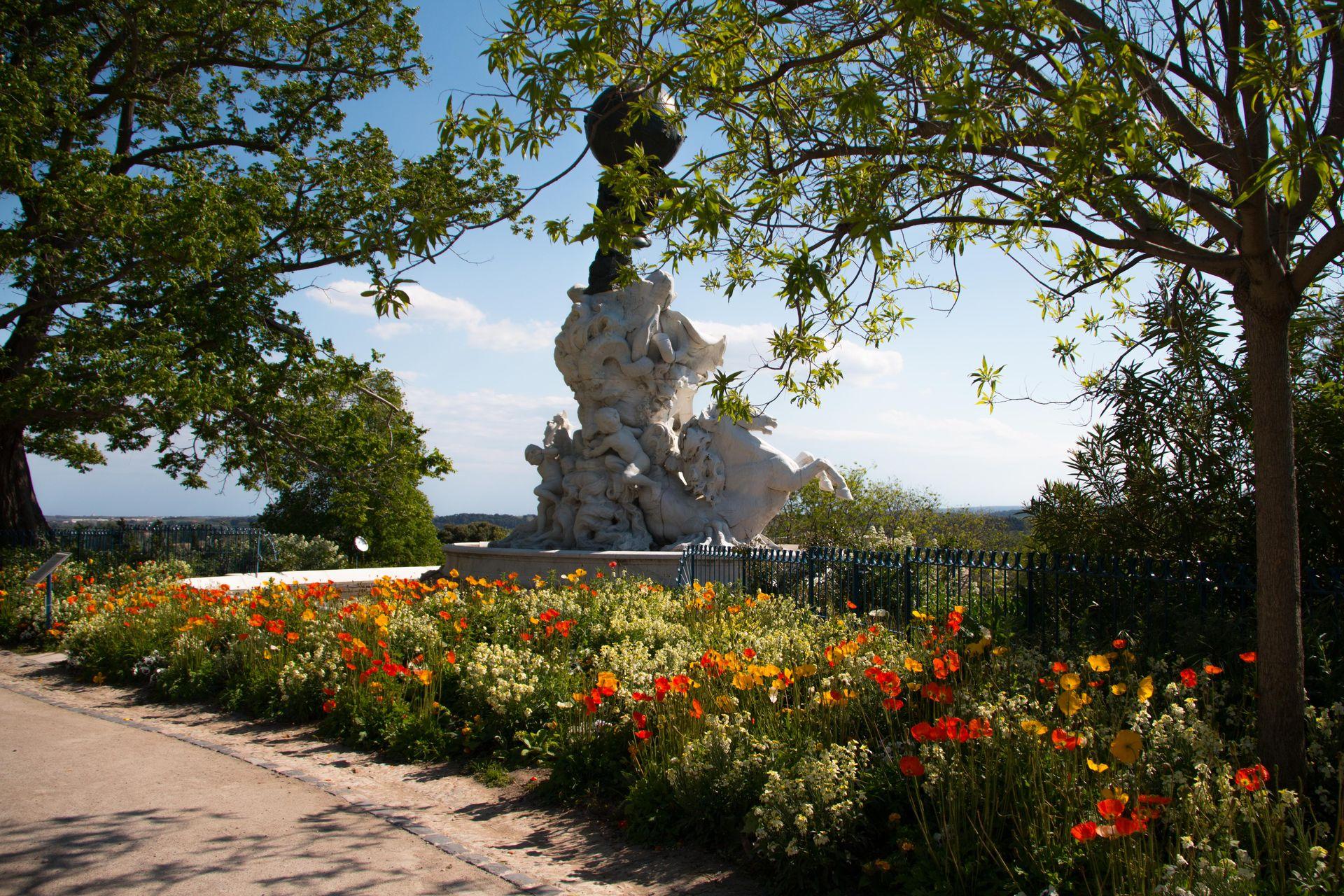 Jardin du plateau des Poètes à Béziers