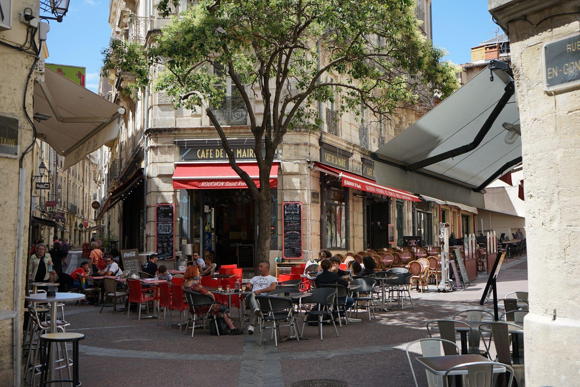 Terrasses du Quartier St-Roch © Montpellier3m