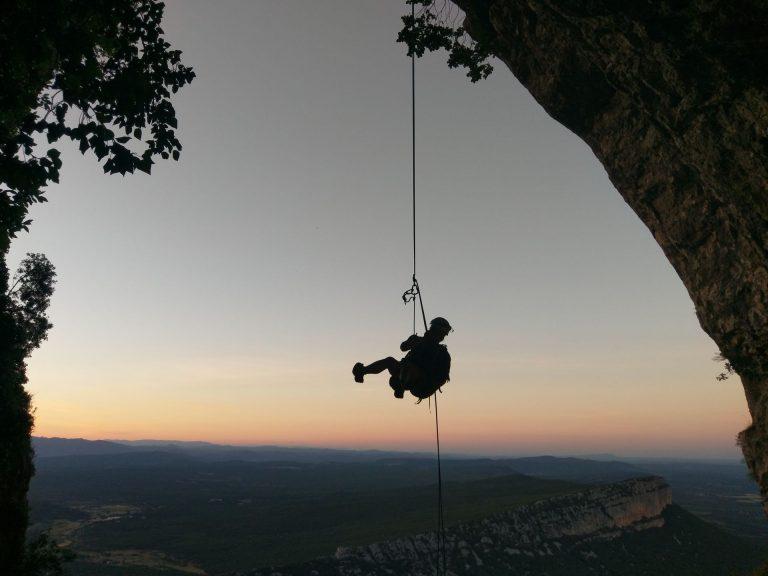 guides hérault - Rando rappel Pic St Loup avec Vue d'en Haut