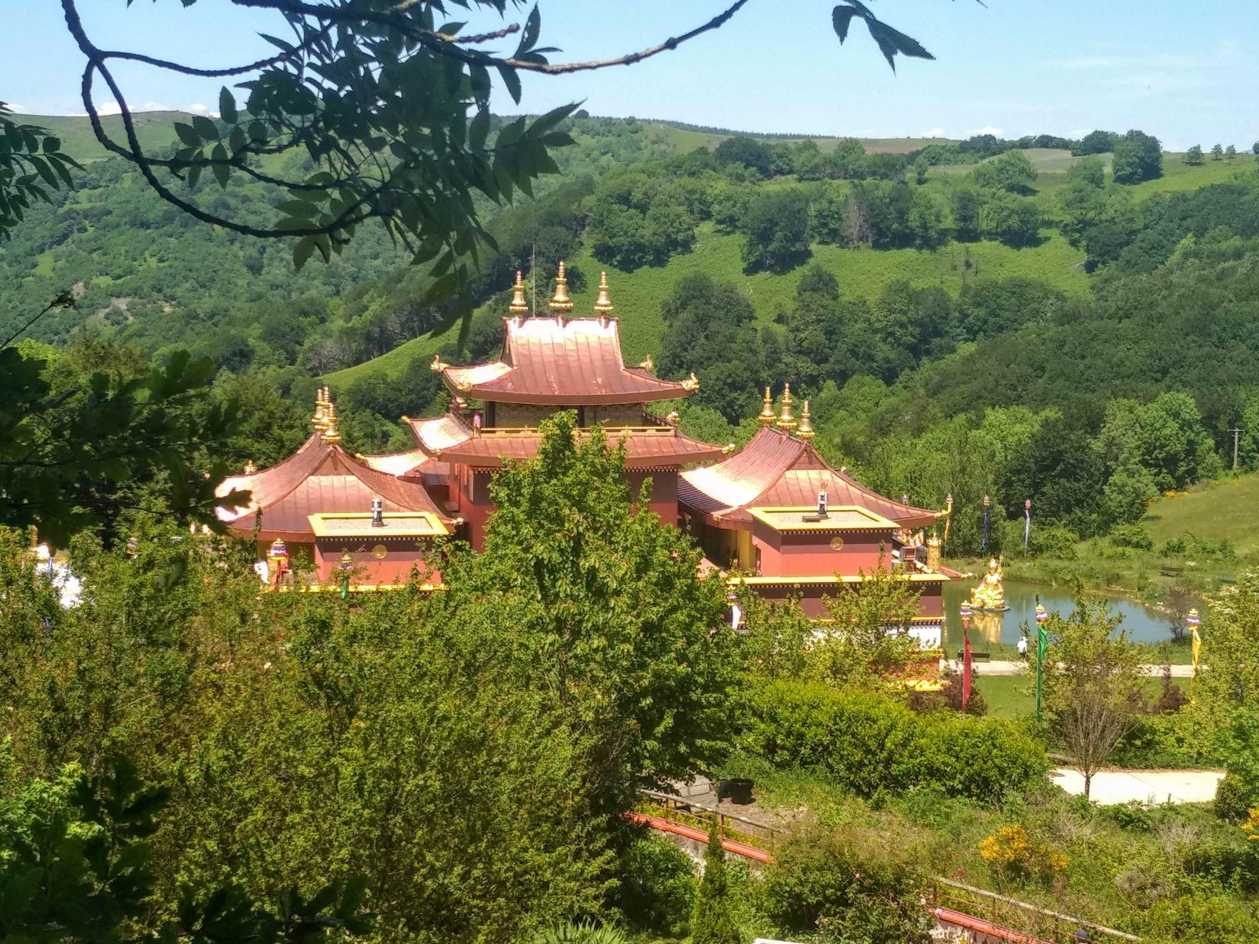 Randonnée temple Lerab Ling