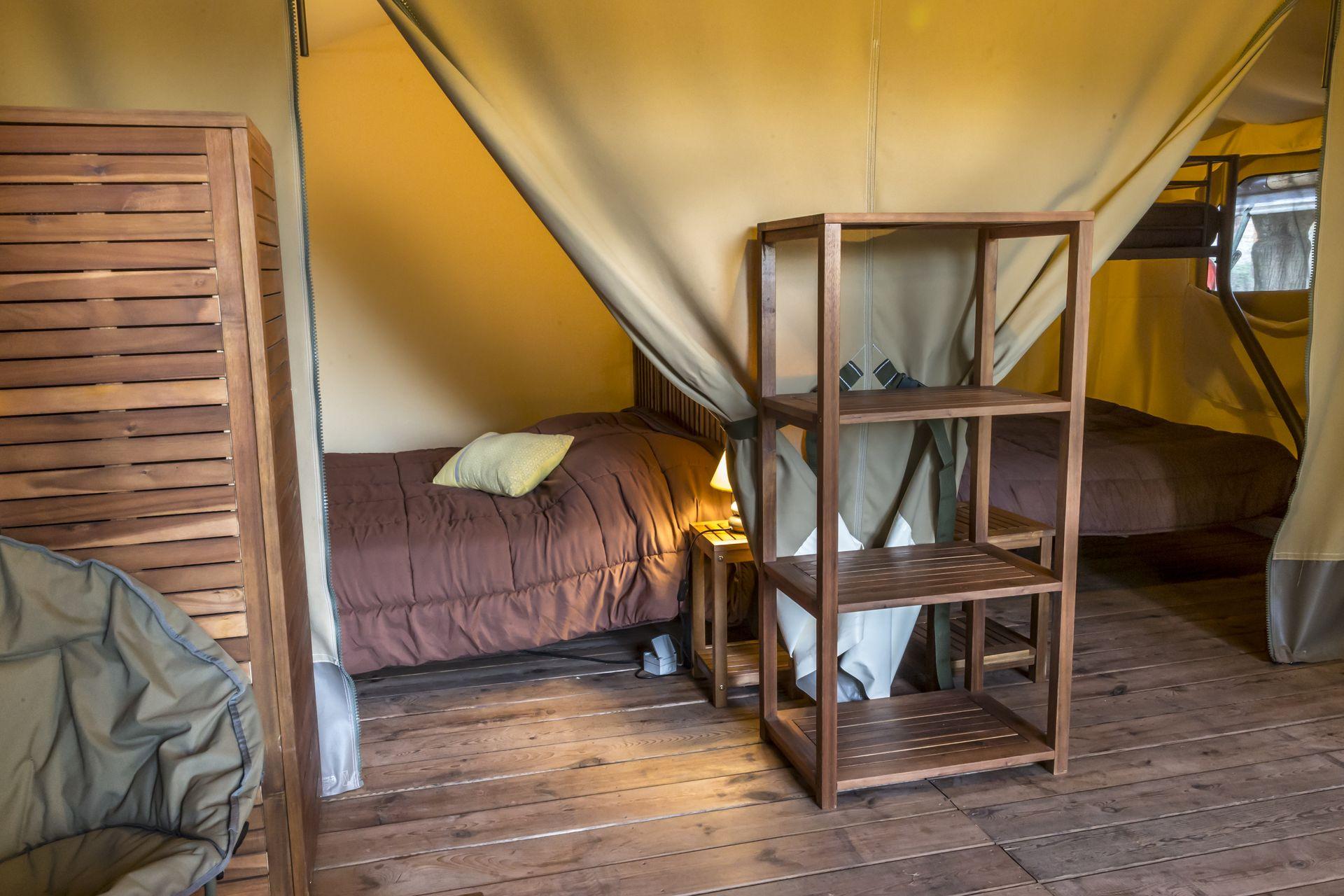 Safari lodge au Camping le Salagou