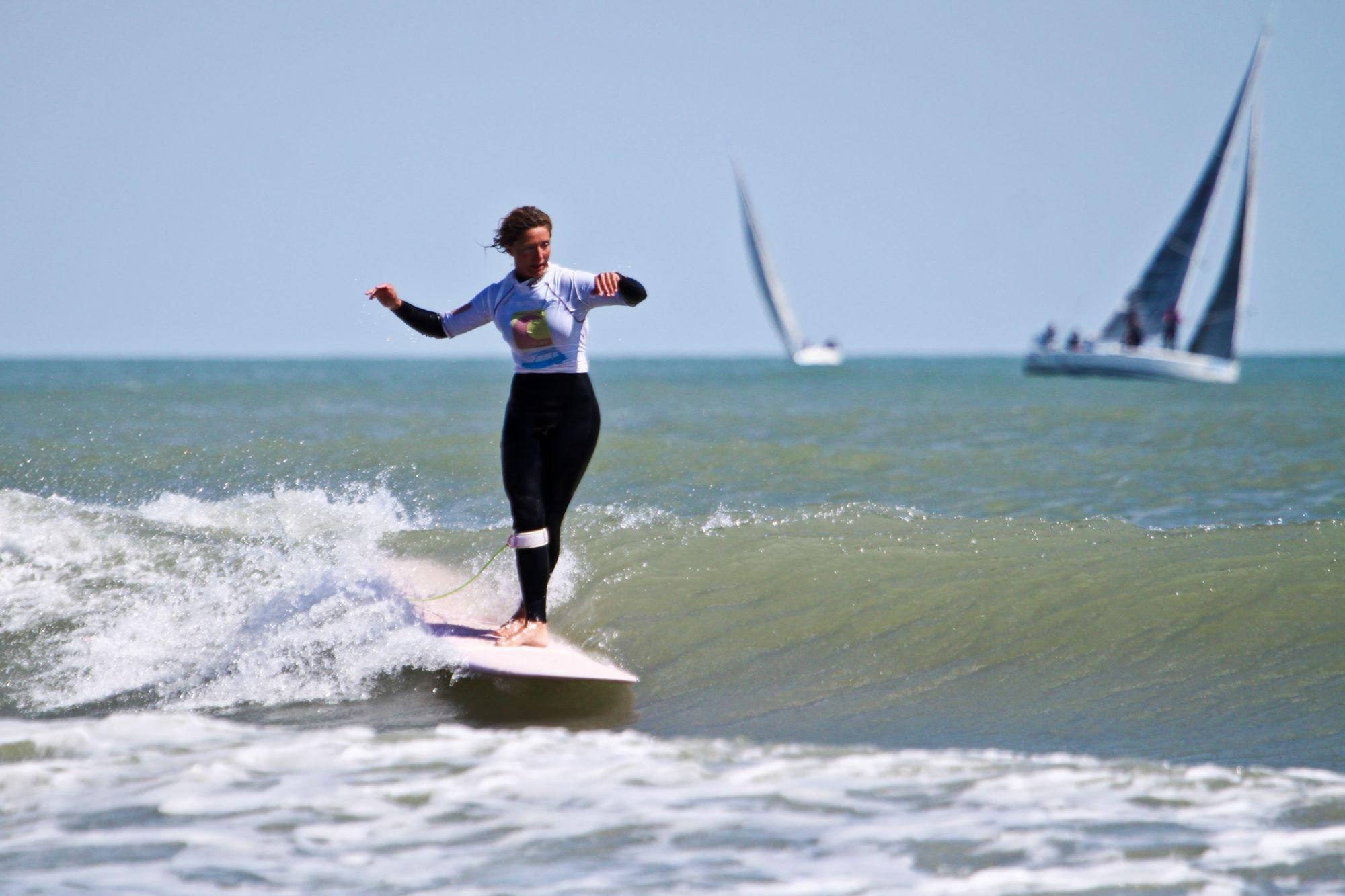 session de Surf à Carnon