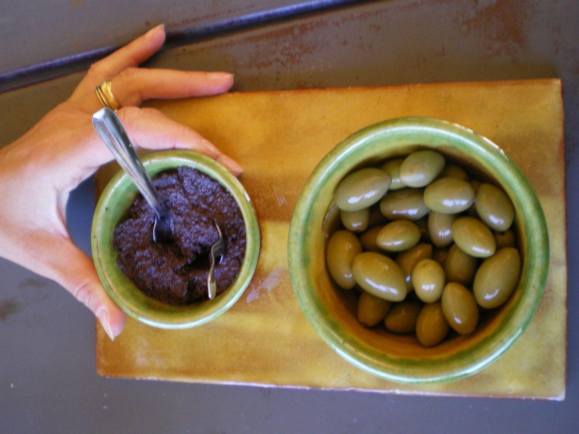 Olives et tapenade