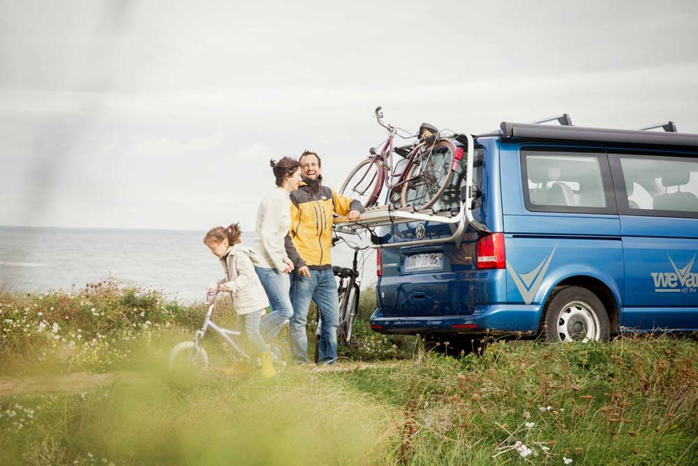 Campervan en famille avec Wevan
