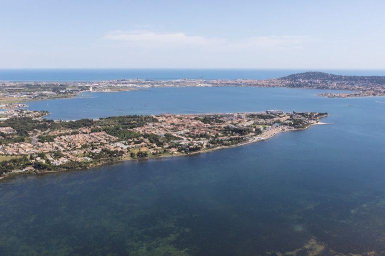 Vue panoramique de Balaruc