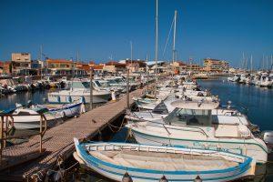 Valras Plage, port de plaisance