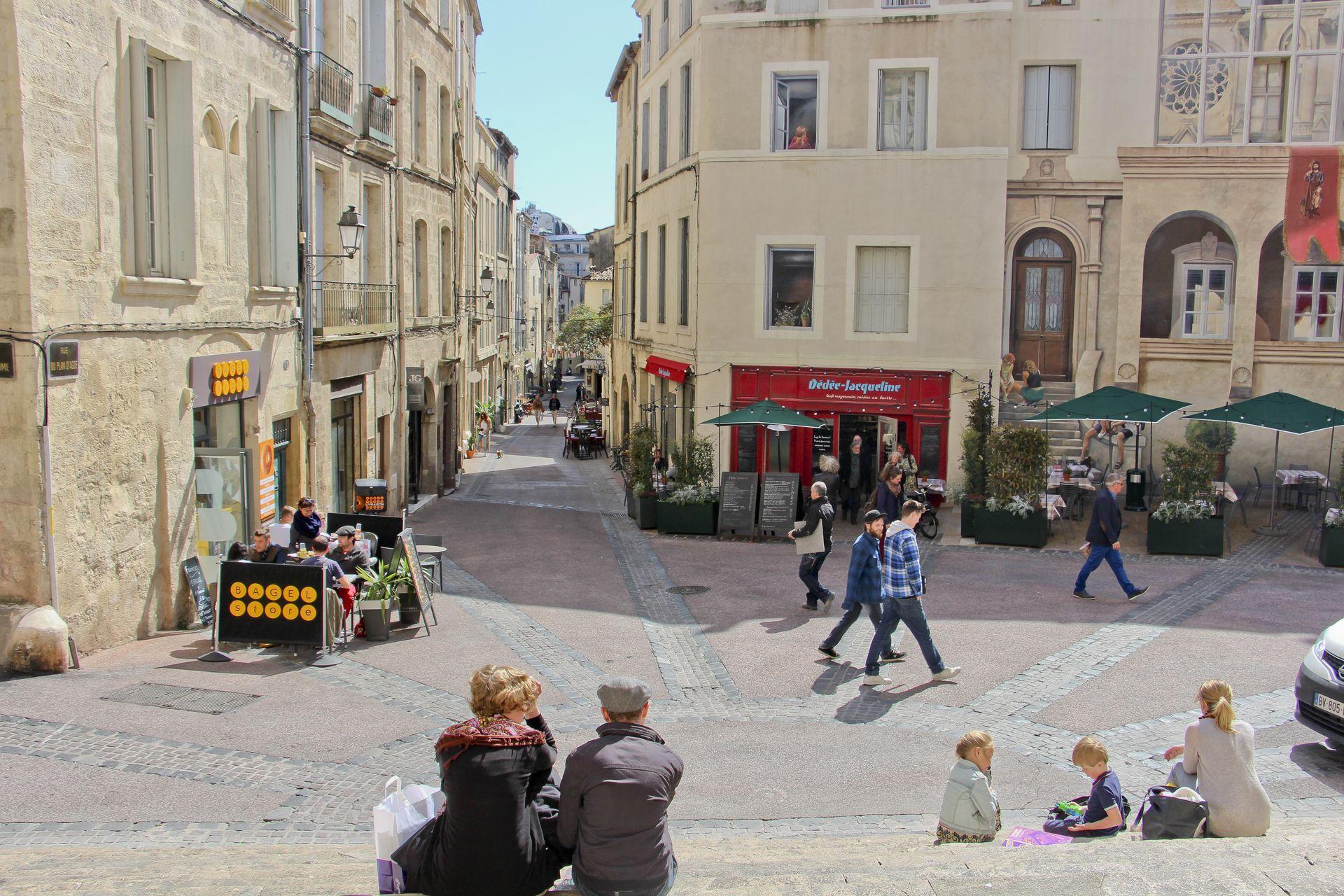Quartier Saint-Roch à Montpellier