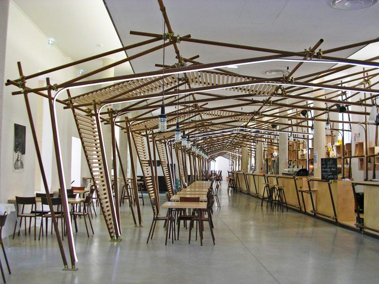 Salle du restaurant La Panacée