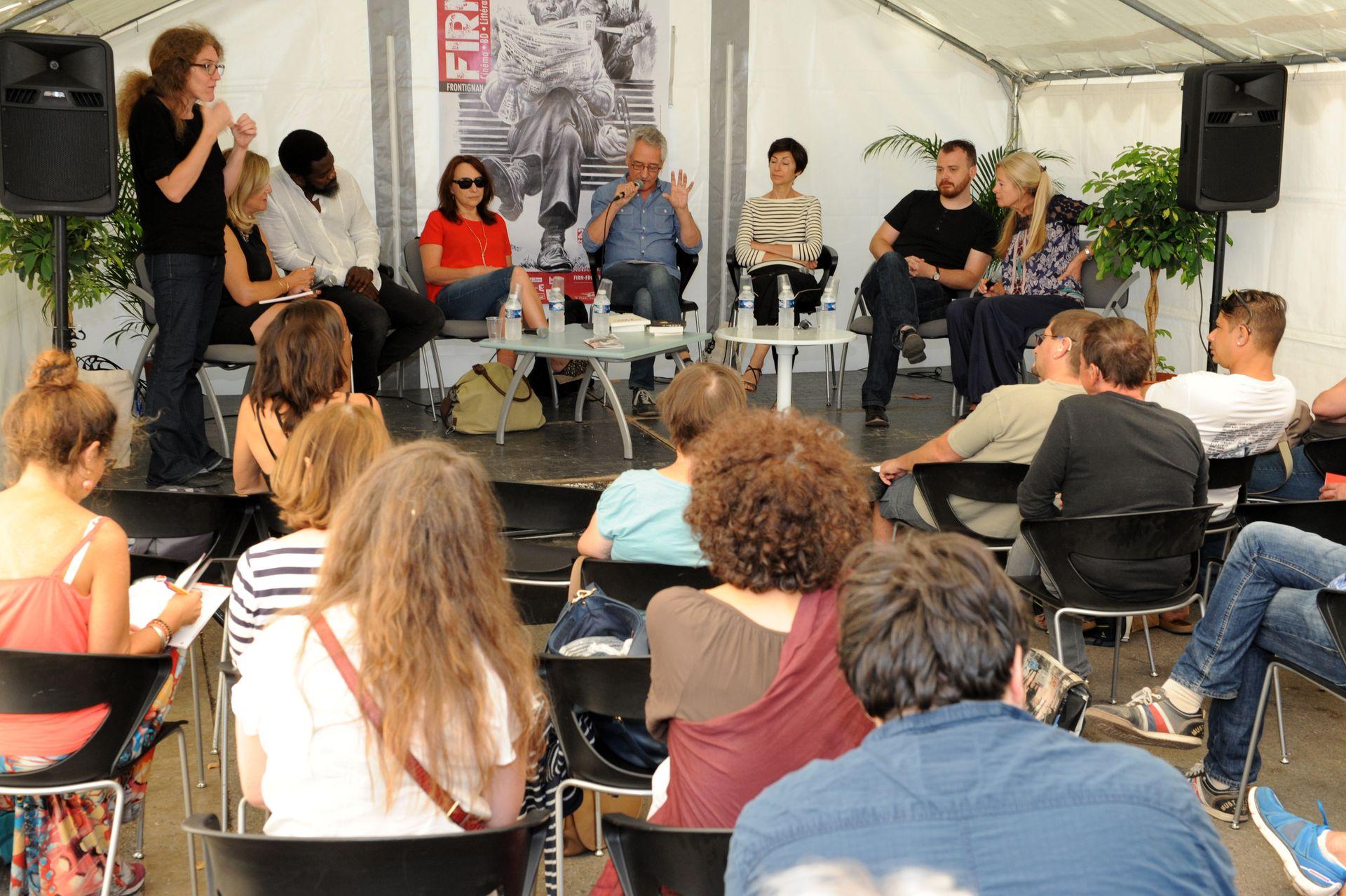 Tables rondes au Festival International du Roman Noir à Frontignan