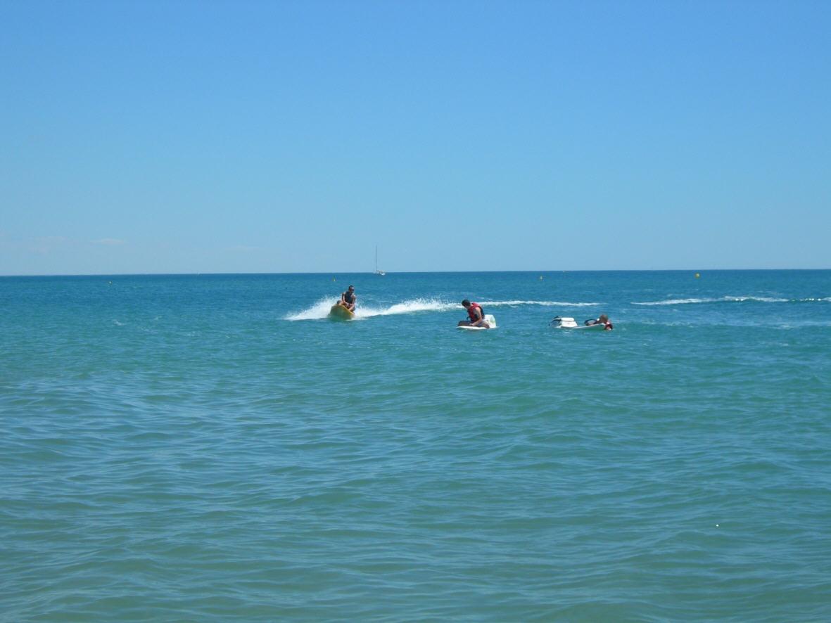 Action en pleine mer avec Roule Nature