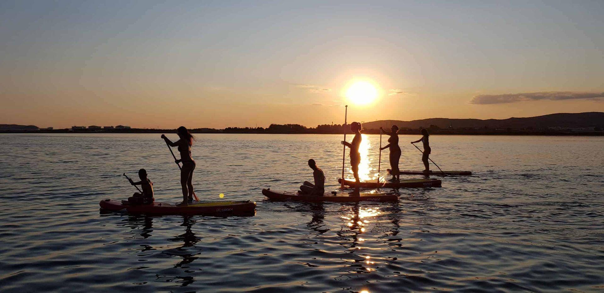 Balade paddle afterwork dégustation de muscat avec Tikicenter