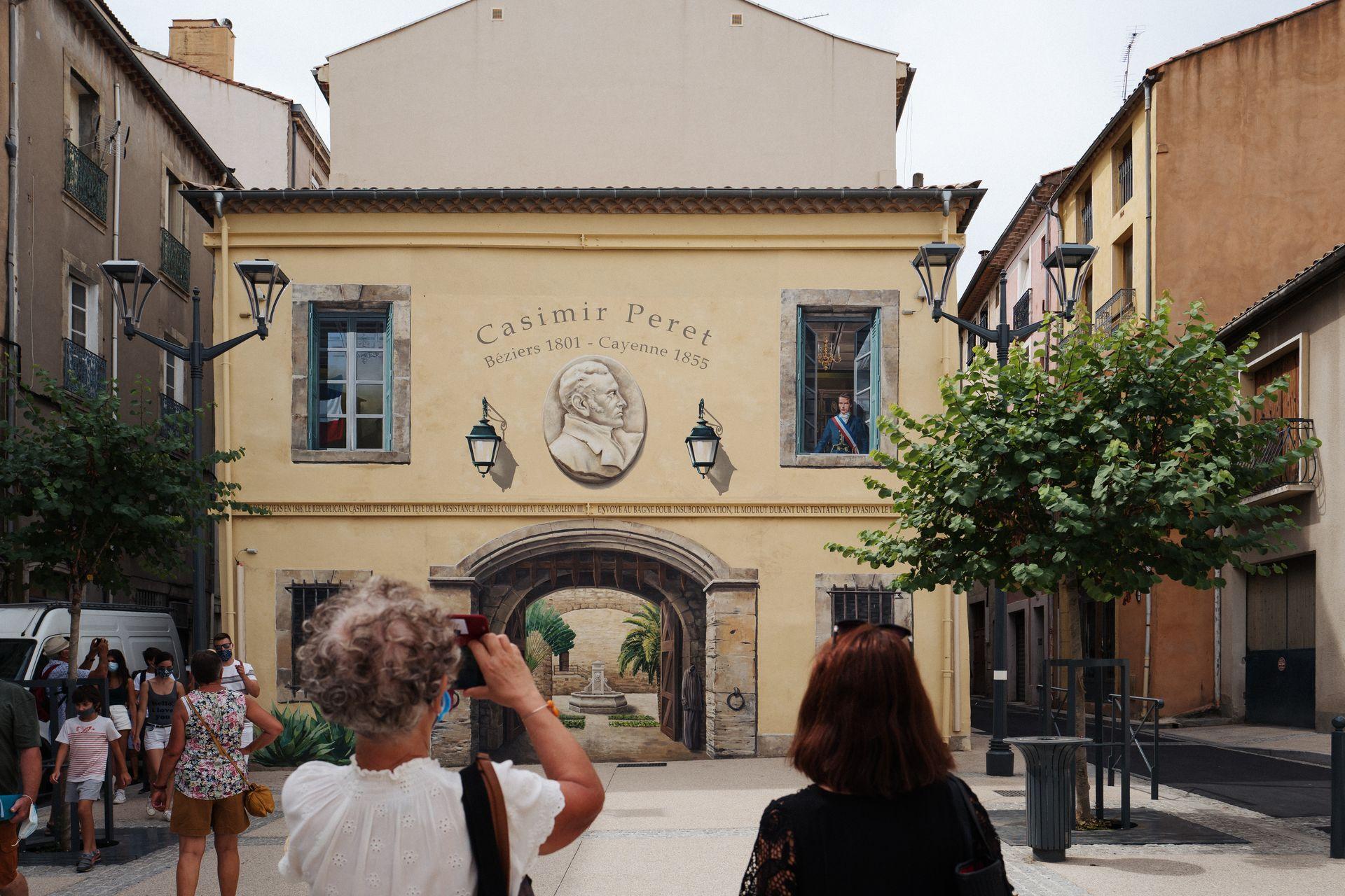 Trompes l'œil à Béziers