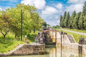 9 écluses de Fonséranes à Béziers