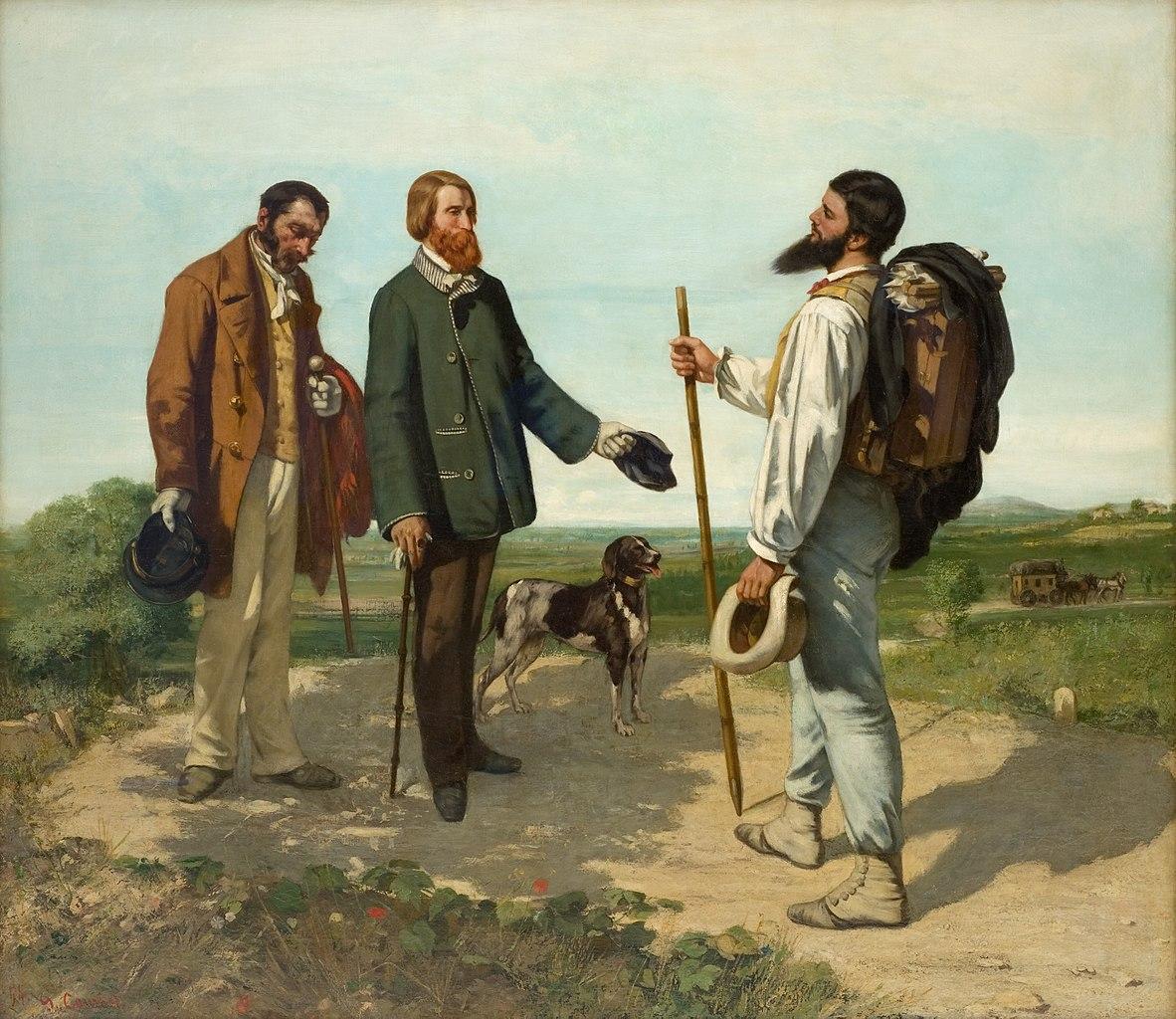 Monsieur Courbet au Musée Fabre