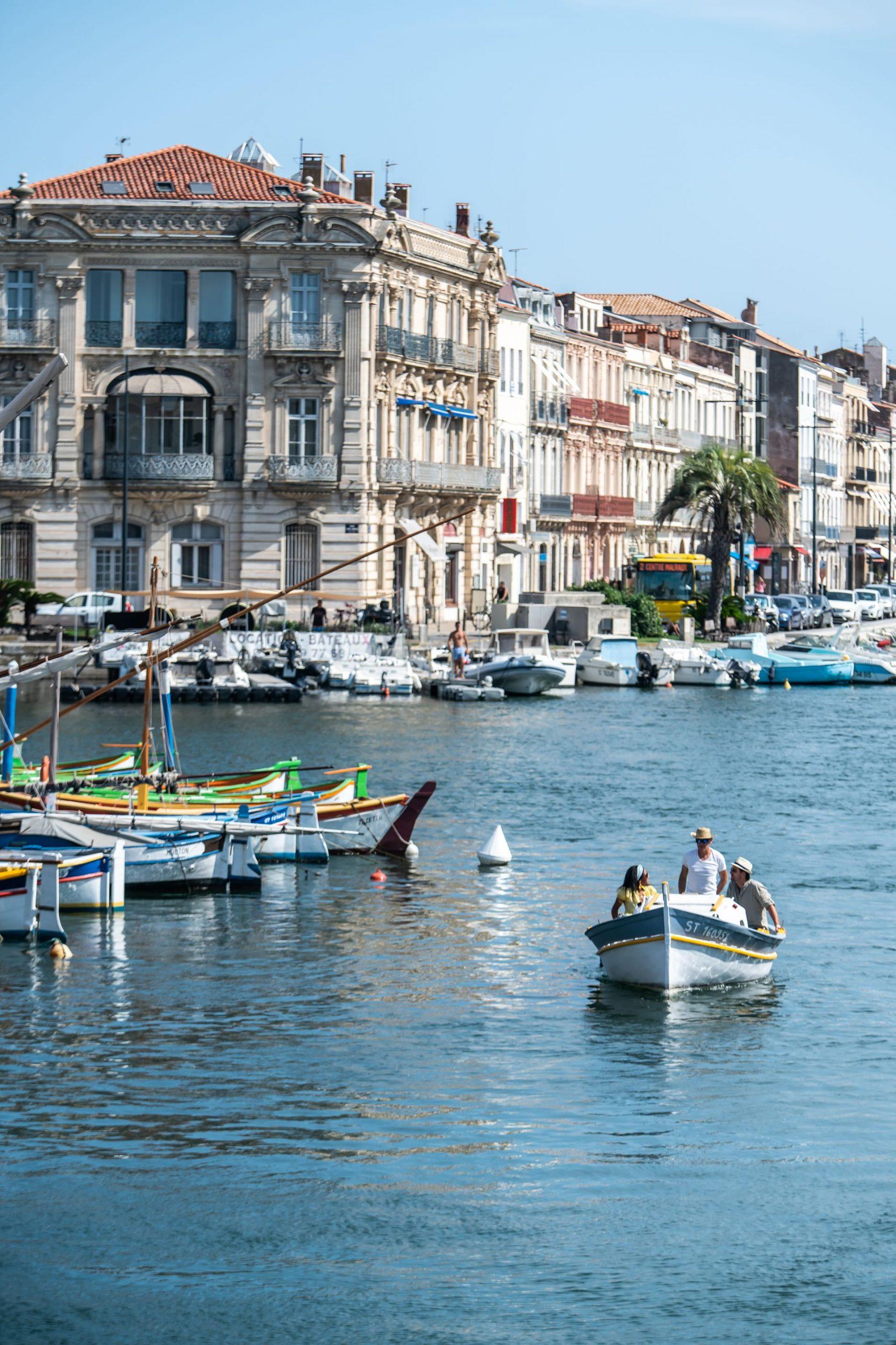 Balade en bateau sur les Canaux de Sète