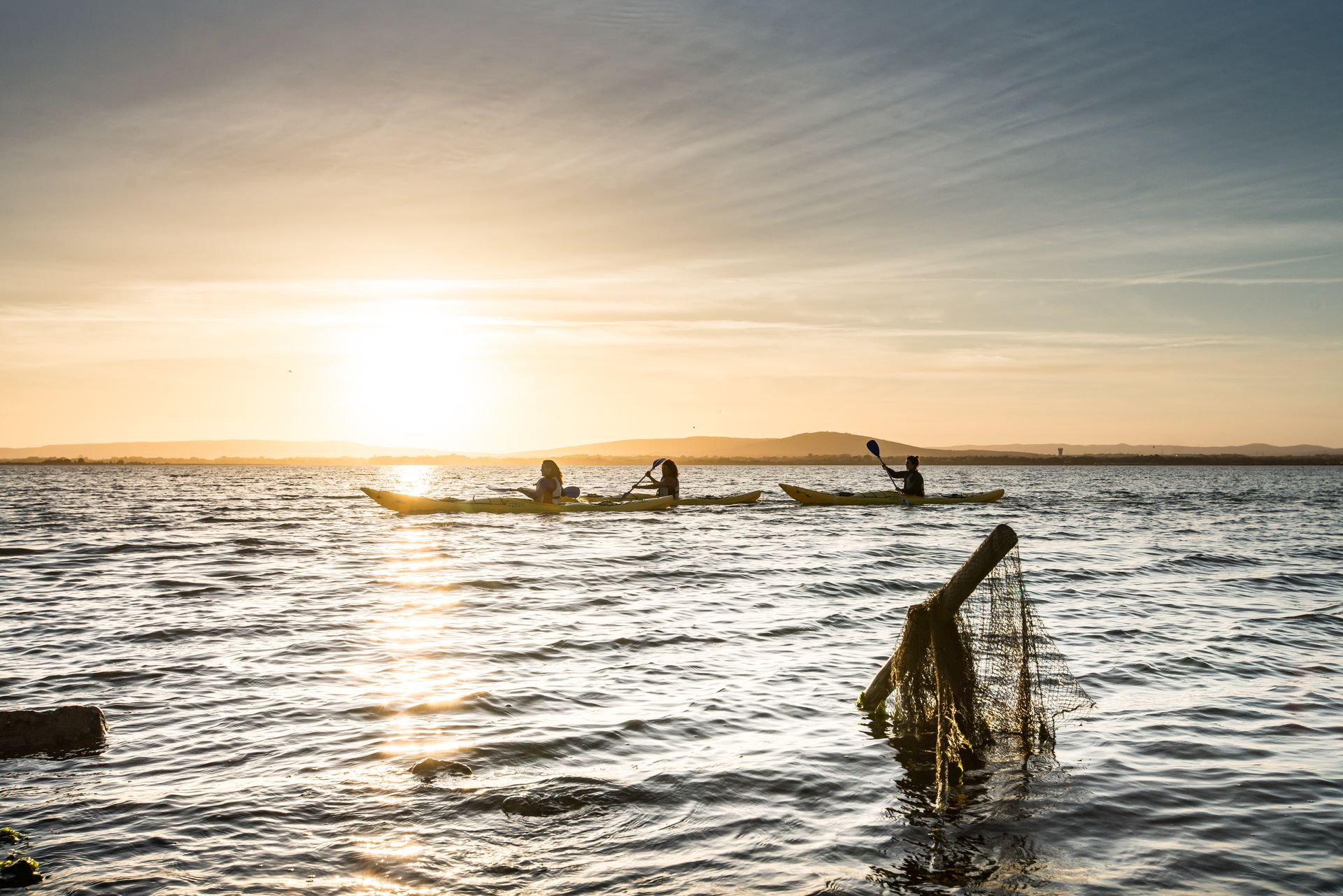 Kayak sur les canaux de Palavas les Flots