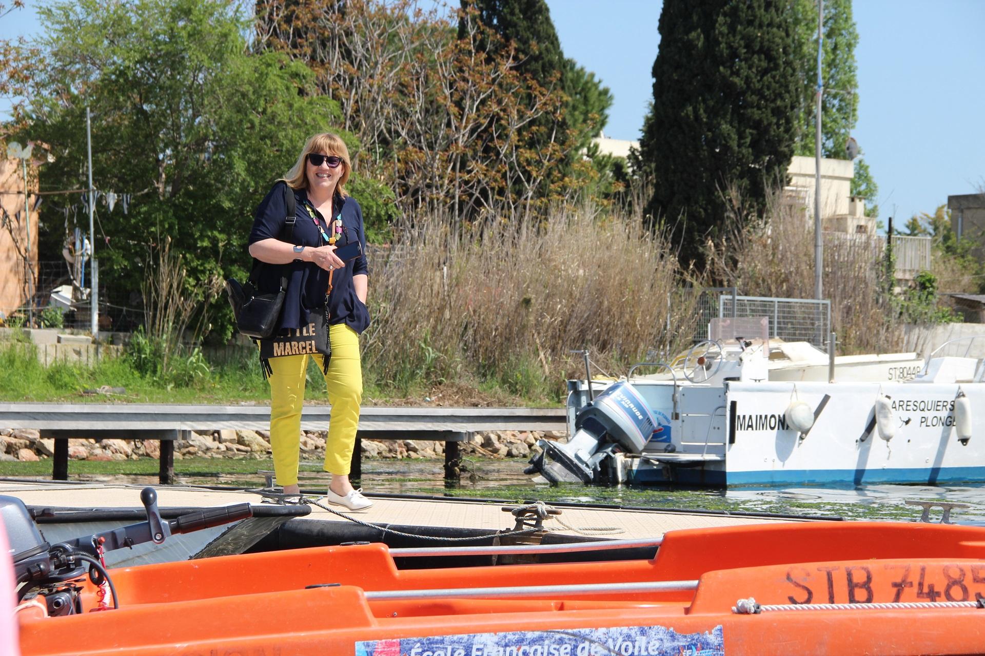 Claude, responsable mission Accessibilité Tourisme Handicap