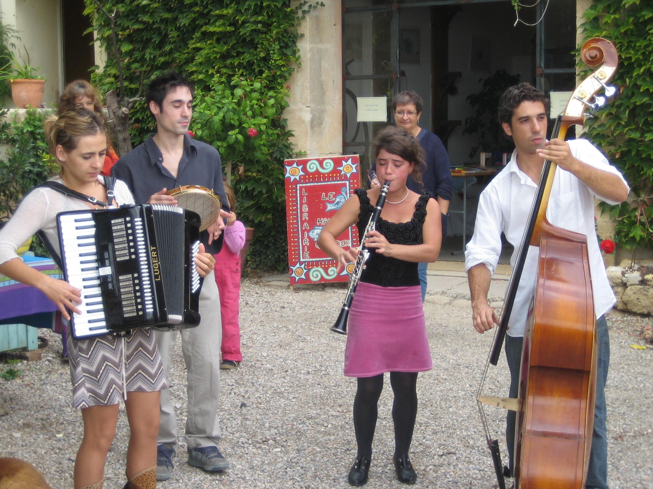 Concert au Domaine Savary de Beauregard