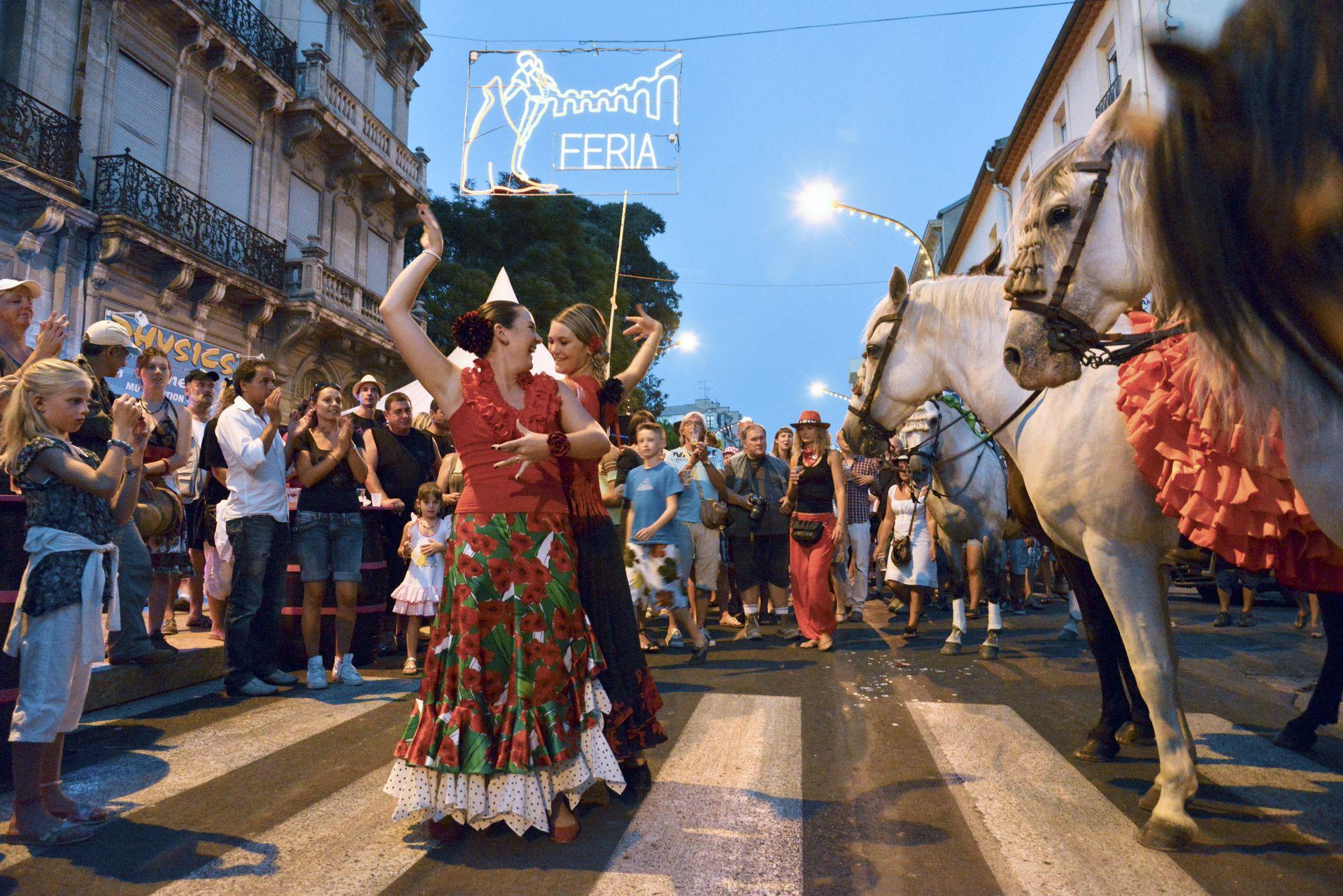 Danseuses à la Feria de Béziers