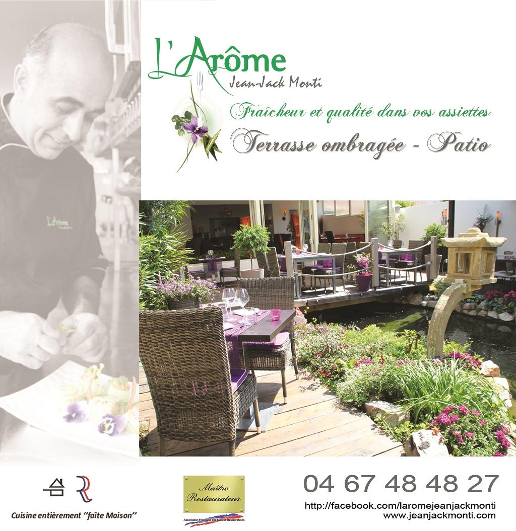 Restaurant l'Arôme à Balaruc les Bains
