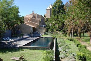Piscine du Domaine de Ribaute à Lieuran Les Béziers