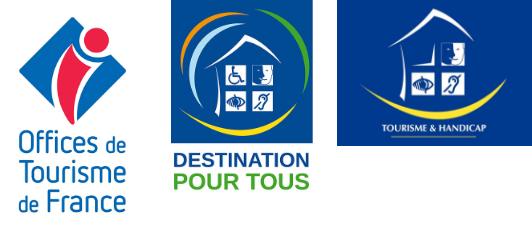 Logos tourisme handicap