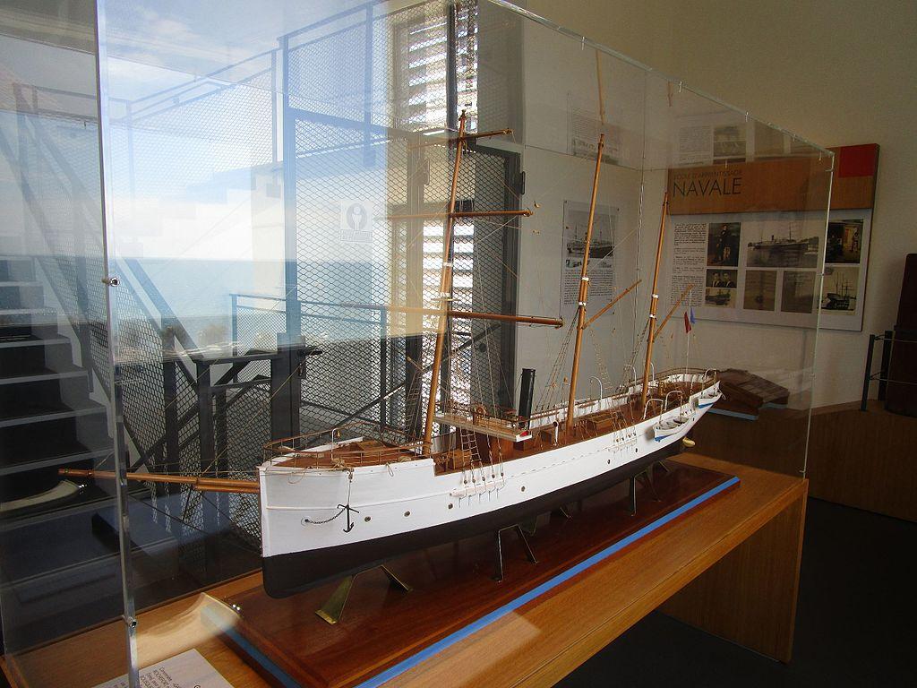 Maquette de bateau au Musée de la mer à Sète
