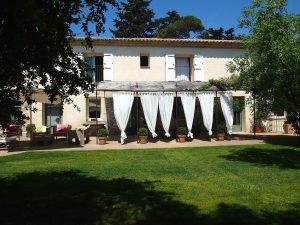Jardin du Mas de Jacquet à Vic La Gardiole