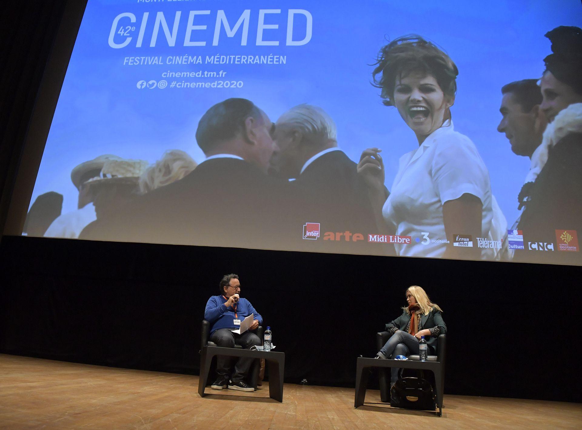 Masterclass Emmanuelle Beart au Cinemed