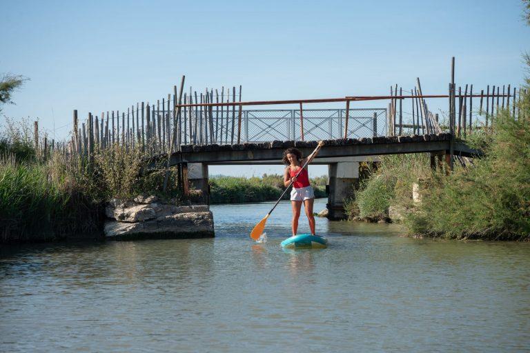 Paddle sur les canaux de Palavas les Flots avec Palavas Kayak de Mer