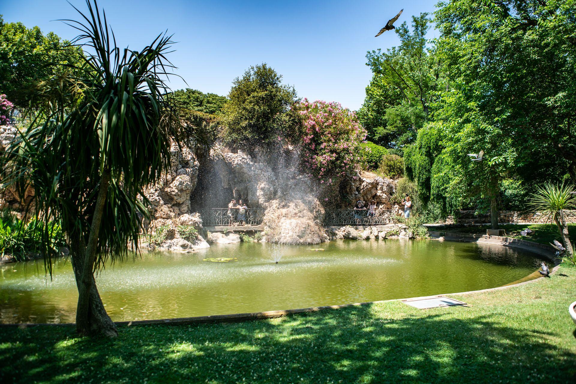 Parc du Château d'eau Simone Veil à Sète