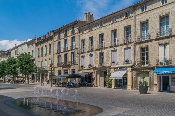 Cours Jean Jaurès à Pézenas