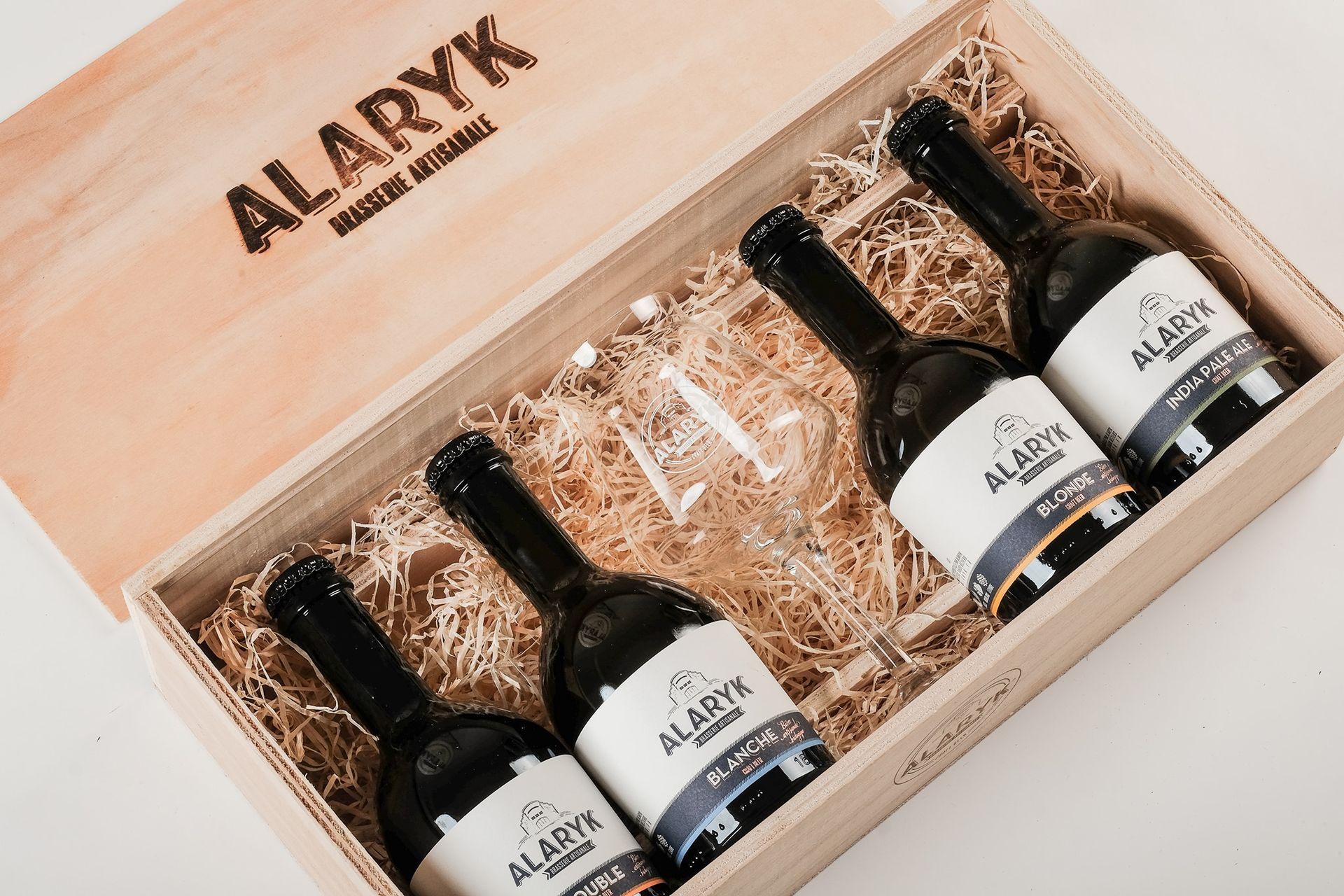 Coffret de bières artisanales - Brasserie Alarik