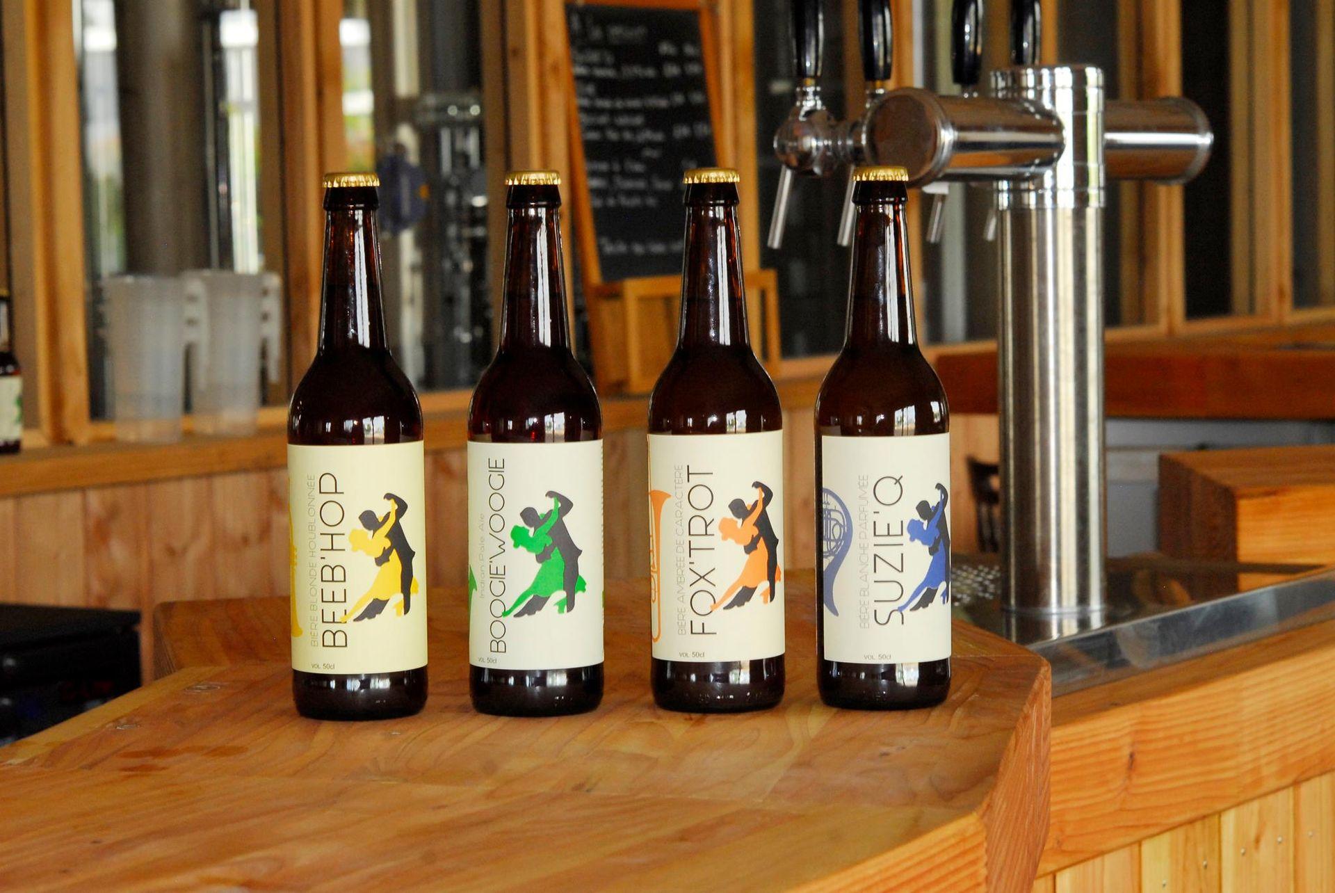 Montblanc - Bières artisanales de la brasserie Kiss'Wing
