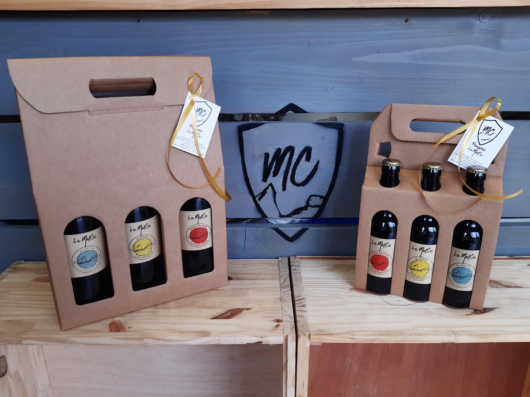 Montpellier - Coffret de bères de la Brasserie artisanale La MatCé