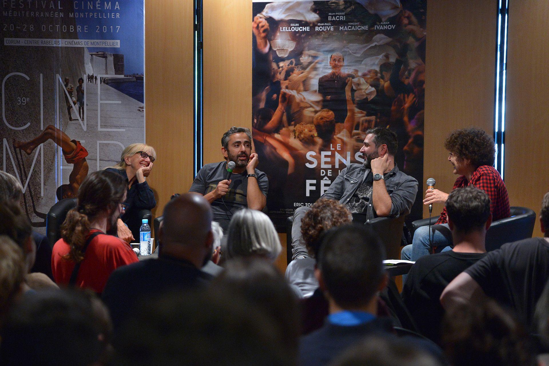 Rencontre avec Toledano Nakache au Cinemed