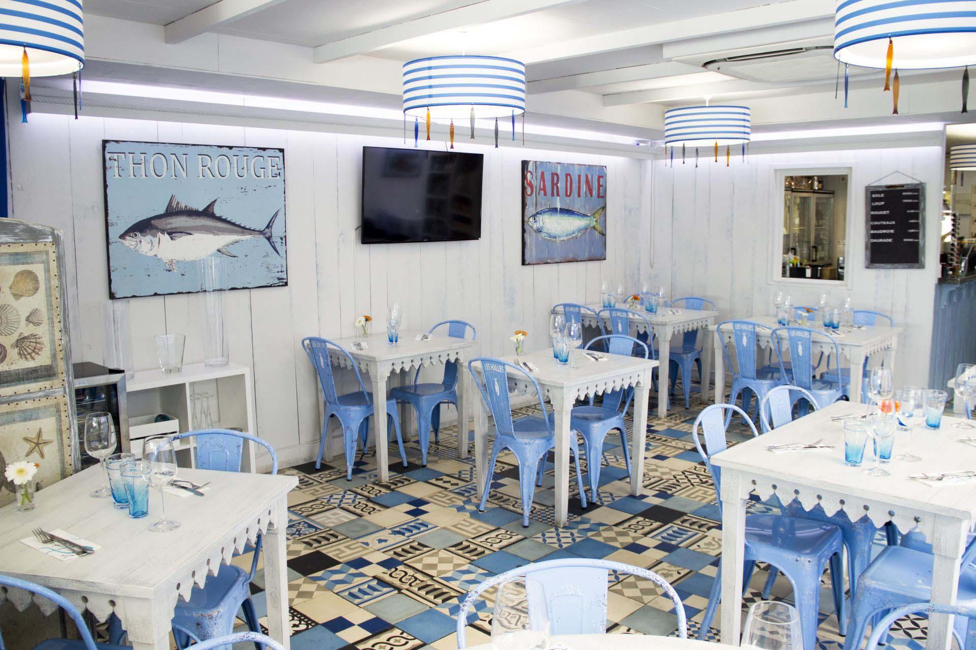 Restaurant Poissonnerie les Halles au Cap d'Agde