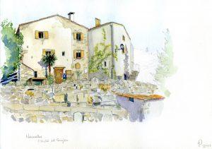 La maison d'hôtes L'Oustal del Passejaïre à Saint Maurice de Navacelles