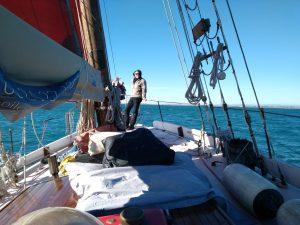 Sortie en mer Méditerranée à bord d'un vieux gréement au départ de Sète