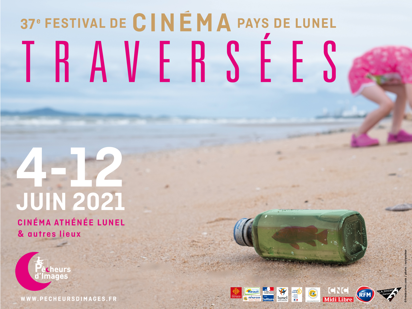 Festival de cinéma Traversées en Pays de Lunel