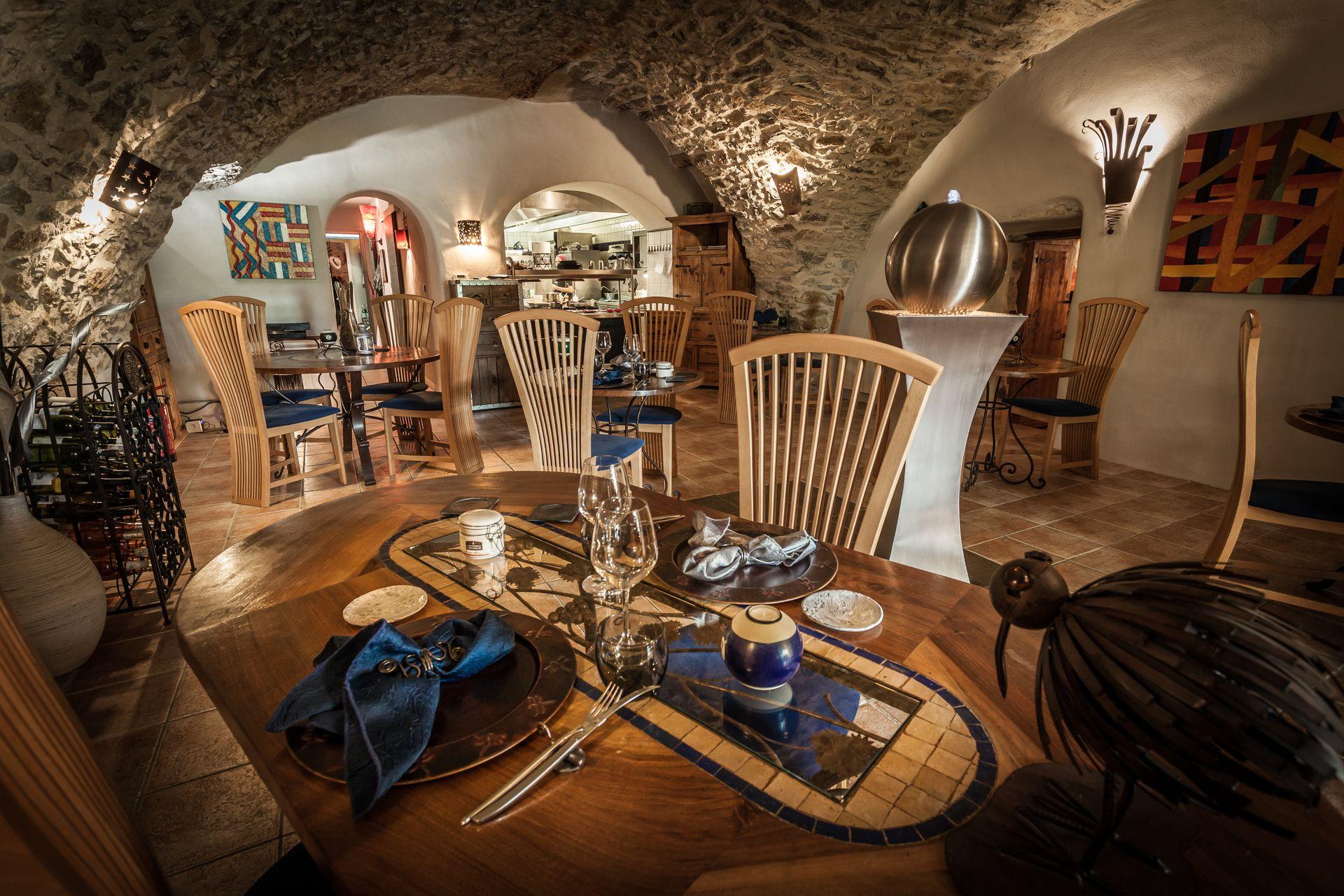 Salle Restaurant Le jardin aux sources