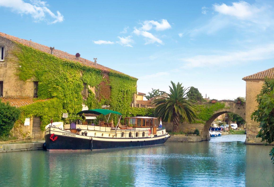 Péniche Barge Saraphina Croisière fluviale Canal du Midi