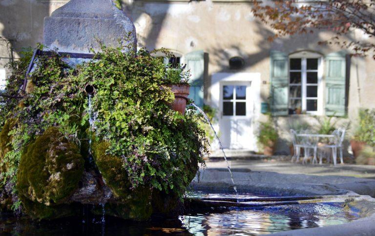 Fontaine à Villeneuvette