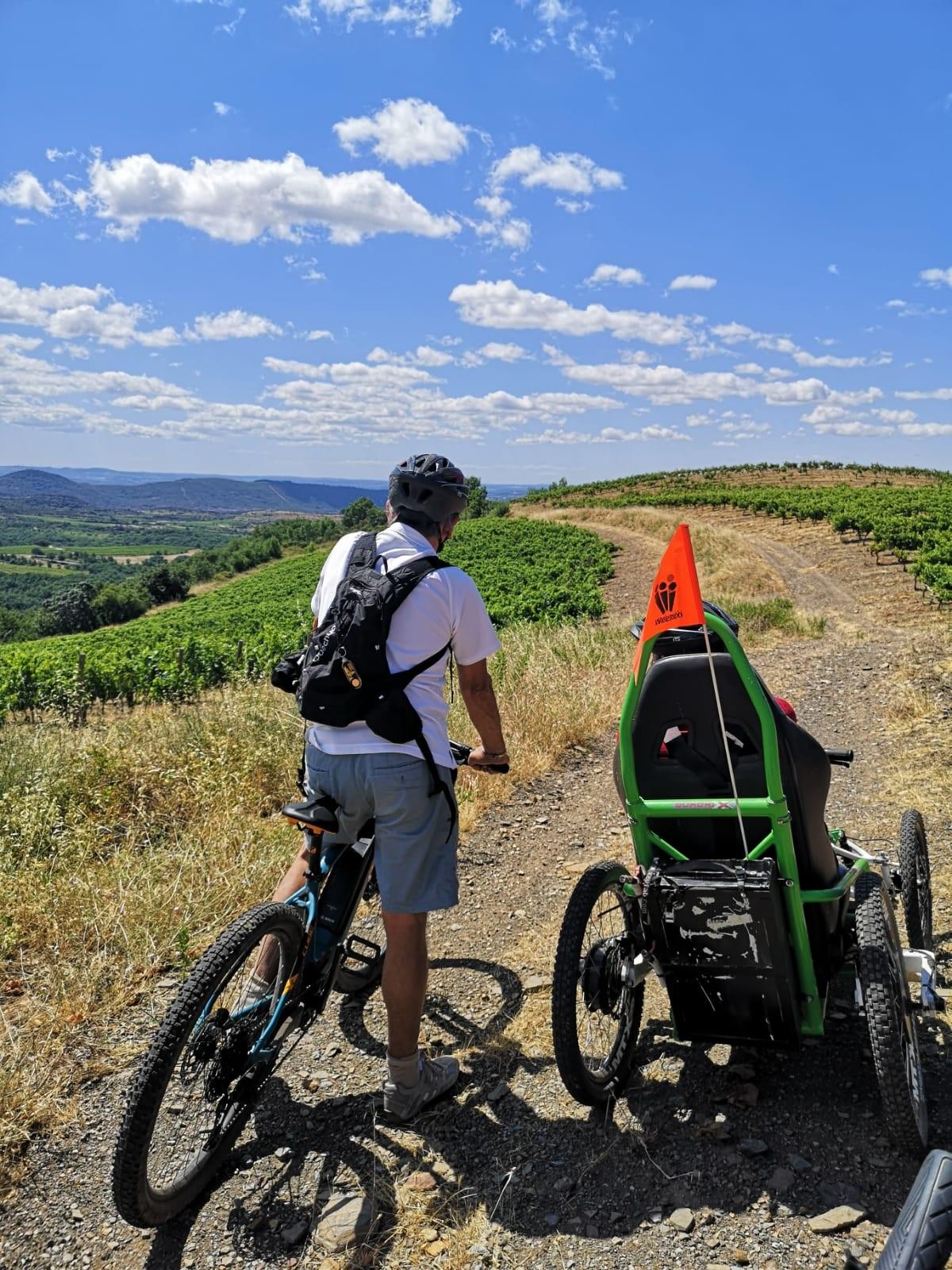 Balade à St Jean de la Blaquière en Quadrix et vélo