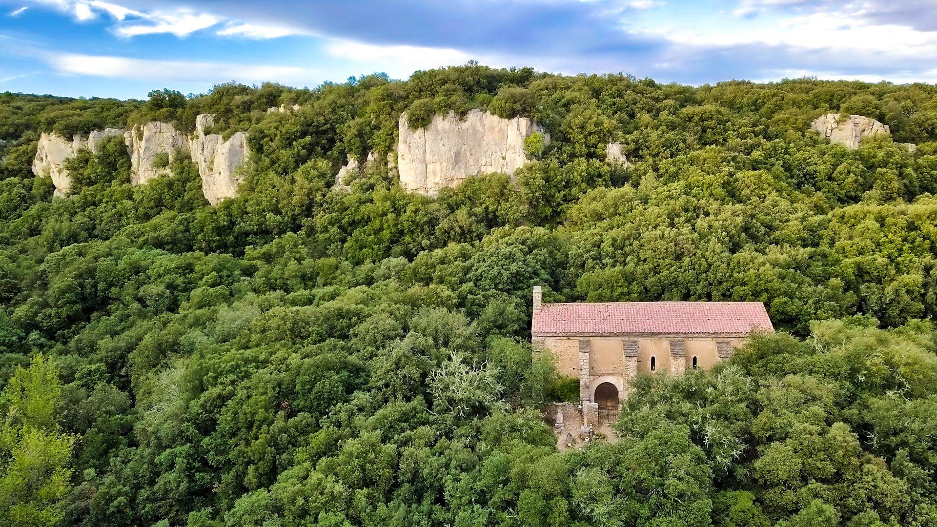 La Chapelle de Dieuvaille, en Minervois