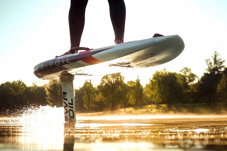 Surf foil électrique avec Dragon Foil